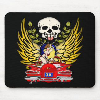 Vintage Car 70th Birthday Gifts Mouse Pad