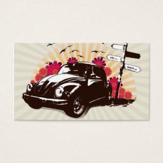 Vintage Car Business Card