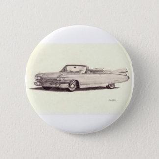 Vintage Car: Cadillac Eldorado (1959) Pinback Button