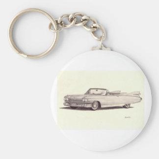 Vintage Car: Cadillac Eldorado Keychains