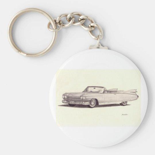 Vintage Car: Cadillac Eldorado Keychain