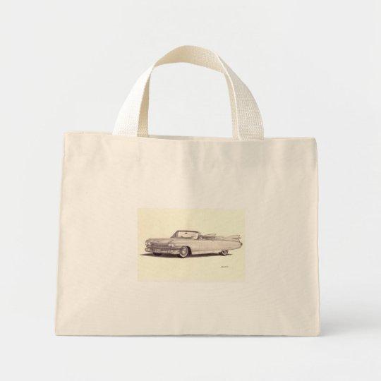 Vintage Car: Cadillac Eldorado Mini Tote Bag