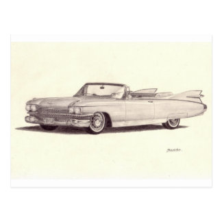 Vintage Car: Cadillac Eldorado Postcards
