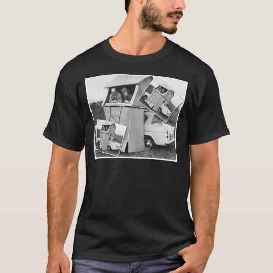Vintage Car Camping Caravan T-Shirt