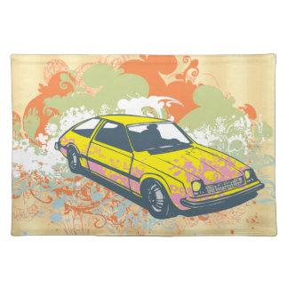 Vintage Car Cloth Placemat