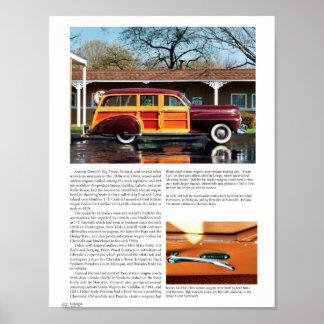 Vintage Car Collection Magazine Poster