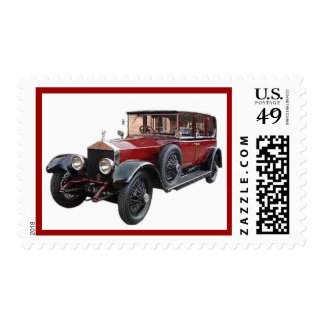 "VINTAGE CAR ""COOL RIDES"" POSTAGE STAMP"