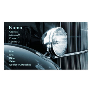 Vintage Car Double-Sided Standard Business Cards (Pack Of 100)