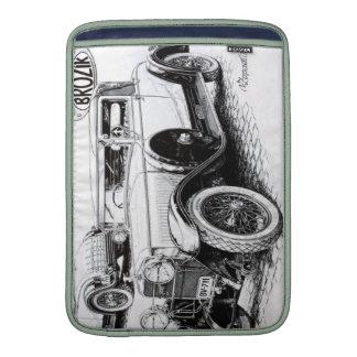 Vintage car illustration MacBook air sleeves