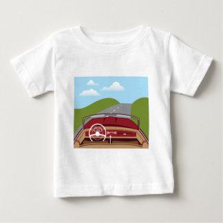 Vintage Car Interior Baby T-Shirt