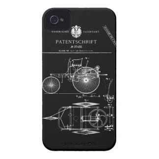 Vintage Car iPhone 4 Cover