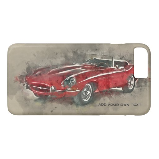 Vintage car iPhone case. iPhone 4S,5S,6S/6  &7/7  iPhone 8 Plus/7 Plus Case