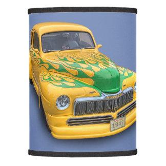 VINTAGE CAR LAMP SHADE