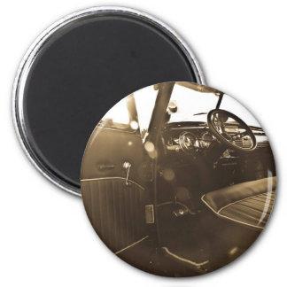 Vintage Car Magnet