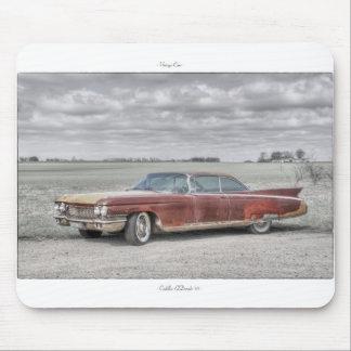 Vintage Car Mousepad: Cadillac ElDorado '60 Mouse Pad