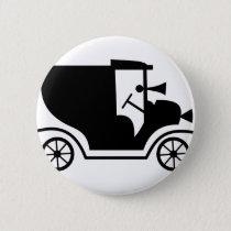 Vintage Car Pinback Button