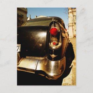 Vintage Car Postcard postcard