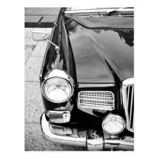 Vintage car postcard