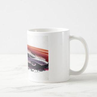 Vintage Car Sketch (11) Chevy 11 Classic White Coffee Mug