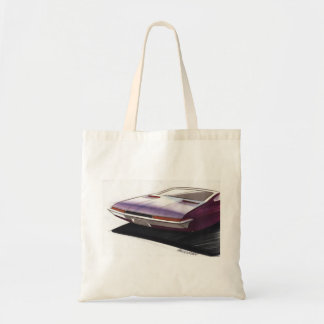Vintage Car Sketch (12) Chevy 12 Tote Bag