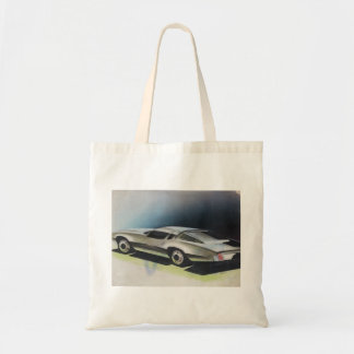 Vintage Car Sketch (15) LRG 3 Tote Bag