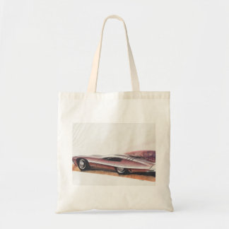 Vintage Car Sketch (18) LRG 6 Tote Bag