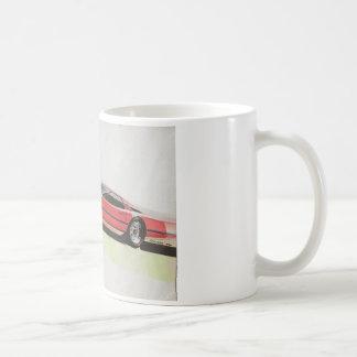 Vintage Car Sketch (22) LRG 10 Classic White Coffee Mug