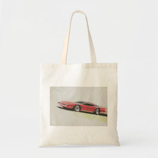 Vintage Car Sketch (22) LRG 10 Tote Bag