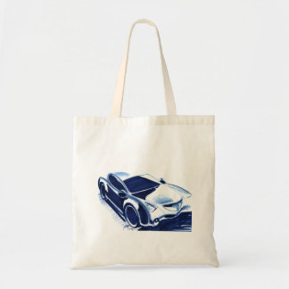 Vintage Car Sketch (29) QS 1 Tote Bag