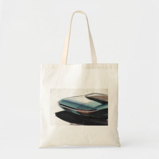 Vintage Car Sketch (2) Chevy 2 Tote Bag