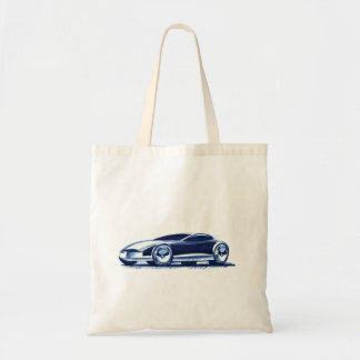 Vintage Car Sketch (31) QS 3 Tote Bag