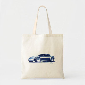 Vintage Car Sketch (32) QS 4 Tote Bag
