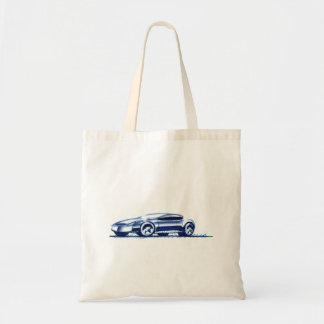Vintage Car Sketch (33) QS 5 Tote Bag