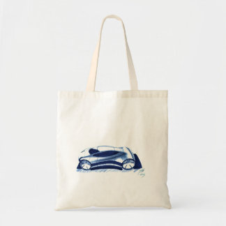 Vintage Car Sketch (34) QS 6 Tote Bag
