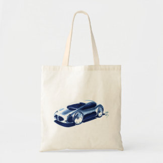 Vintage Car Sketch (35) QS 7 Tote Bag