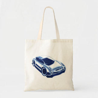 Vintage Car Sketch (37) QS 9 Tote Bag