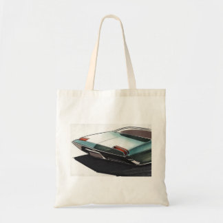 Vintage Car Sketch (3) Chevy 3 Tote Bag