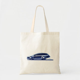 Vintage Car Sketch (41) QS 13 Tote Bag