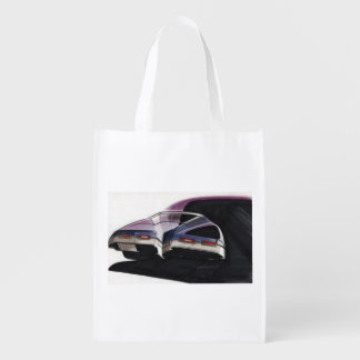 Vintage Car Sketch (45) Riviera 3 Reusable Grocery Bag