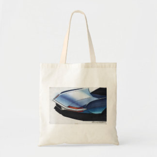 Vintage Car Sketch (4) Chevy 4 Tote Bag