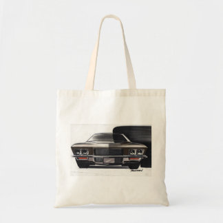 Vintage Car Sketch (50) Riviera 8 Tote Bag