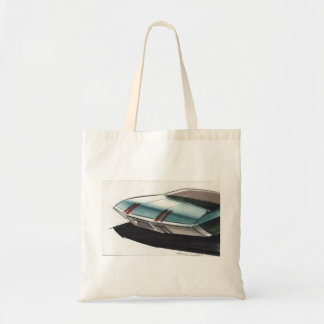 Vintage Car Sketch (8) Chevy 8 Tote Bag