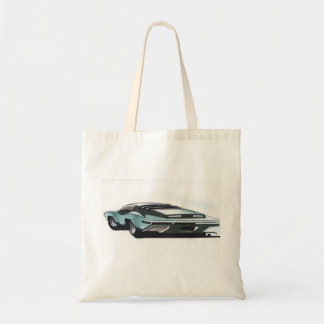 Vintage Car Sketch (9) Chevy 9 Tote Bag