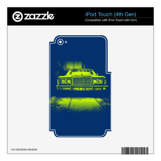 Vintage Car Skin For iPod Touch 4G