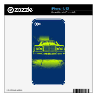 Vintage Car Skin For The iPhone 4S