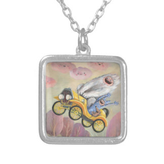 Vintage Car with Monsters Necklace