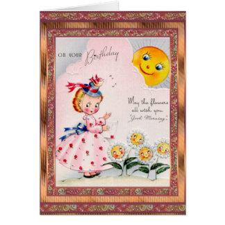 Vintage Card Birthday
