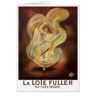 Vintage Card: Folies Bergere La Loie Fuller