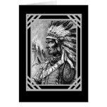 Vintage Card Native American