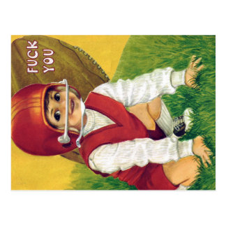 Vintage Card Retro-fitted With Contemporary Langua